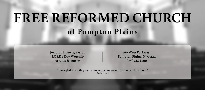 Free Reformed Church of Pompton Plains